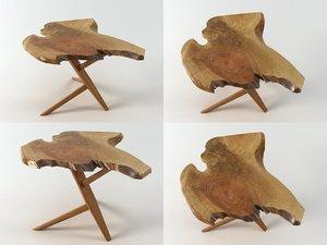 conoid end table n 3D model