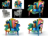 3D proust geometrica model