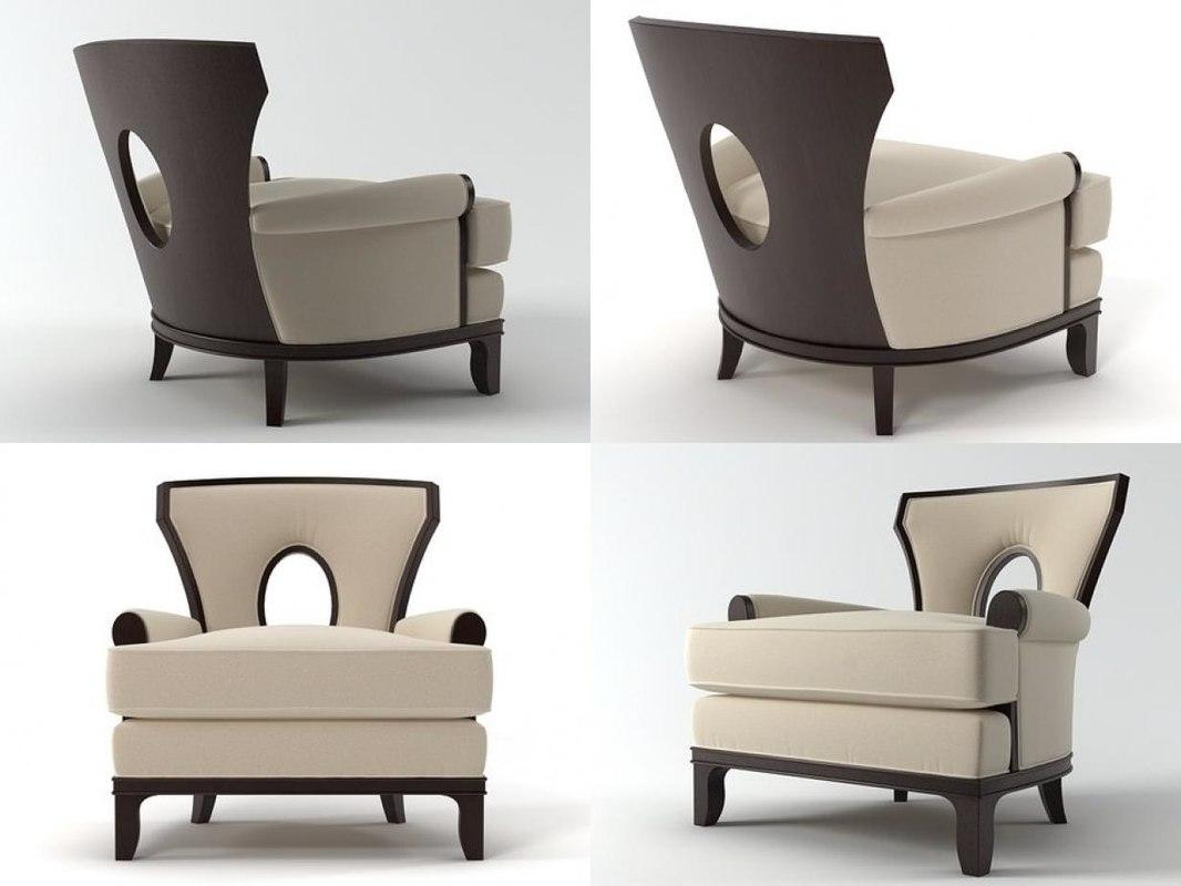 grace lounge chair 3D