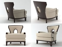 grace lounge chair 3D