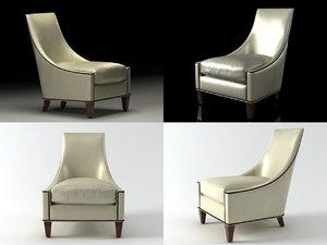 3D bel-air lounge chair