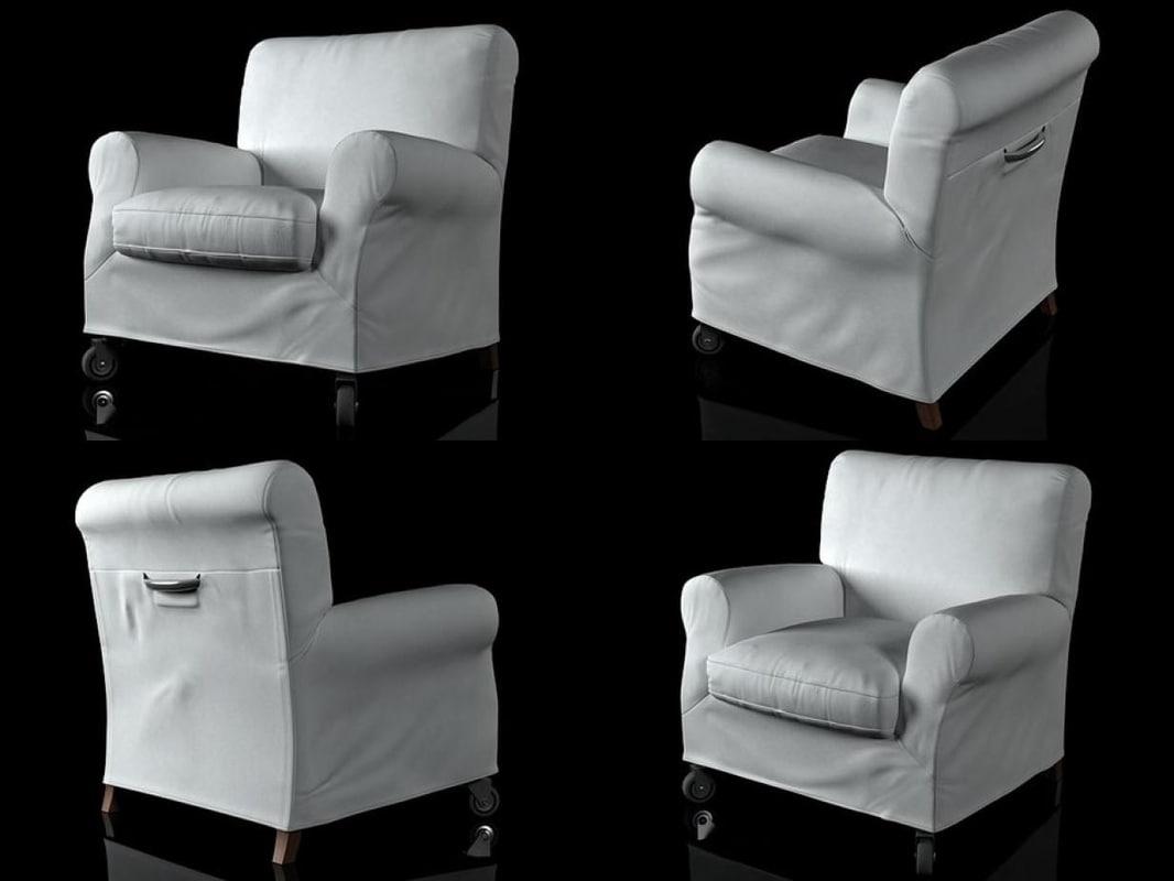 nonnamaria armchair 3D model