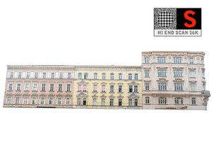 3D facade street