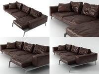 3D model lifesteel sofa 01