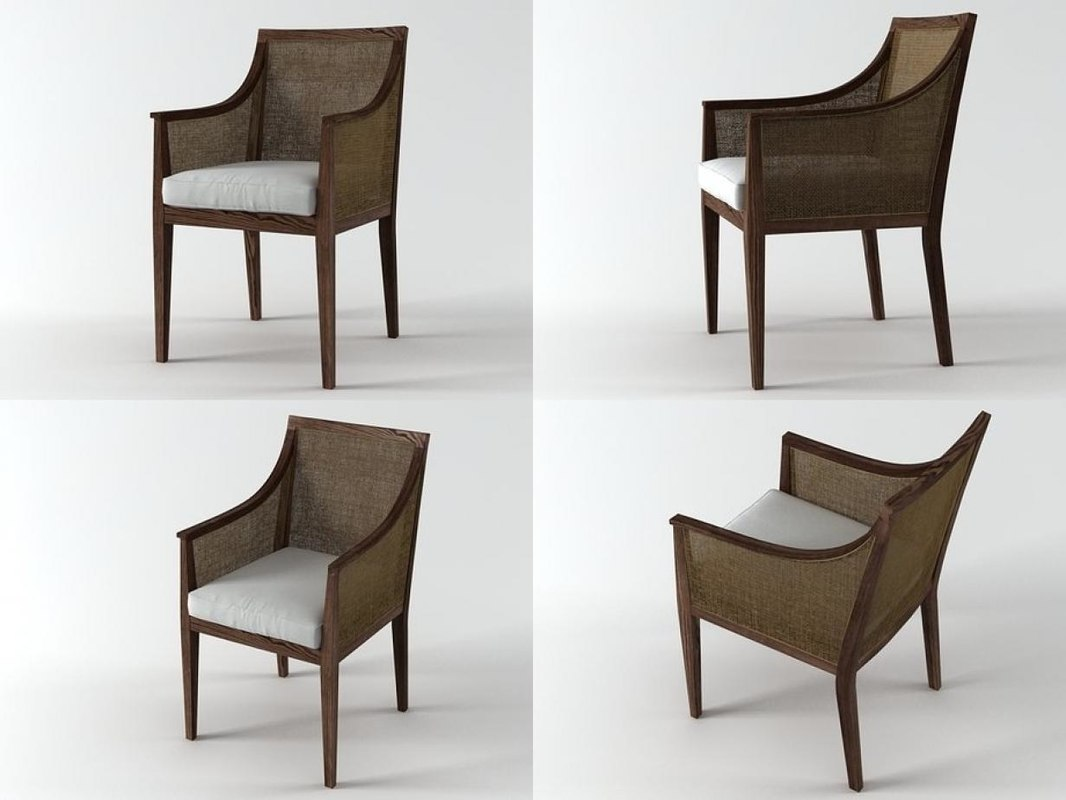 sem smallarmchair 3D model