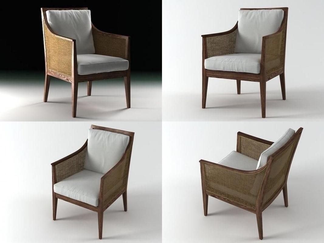 3D sem armchair
