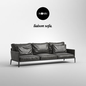 3D liaison sofa model