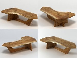 sled based coffee table model