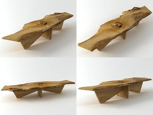 3D butterfly base coffee table