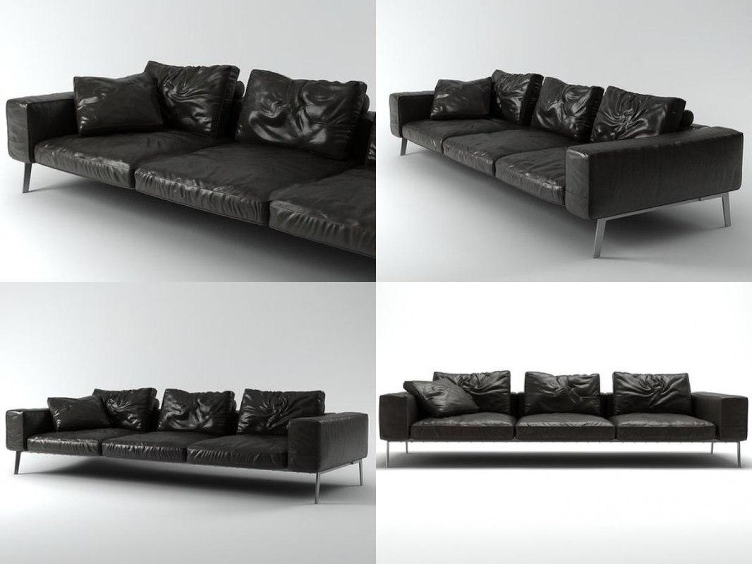 lifesteel sofa 275 3D