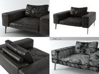 3D model lifesteel armchair 125