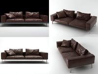 3D lifesteel sofa model