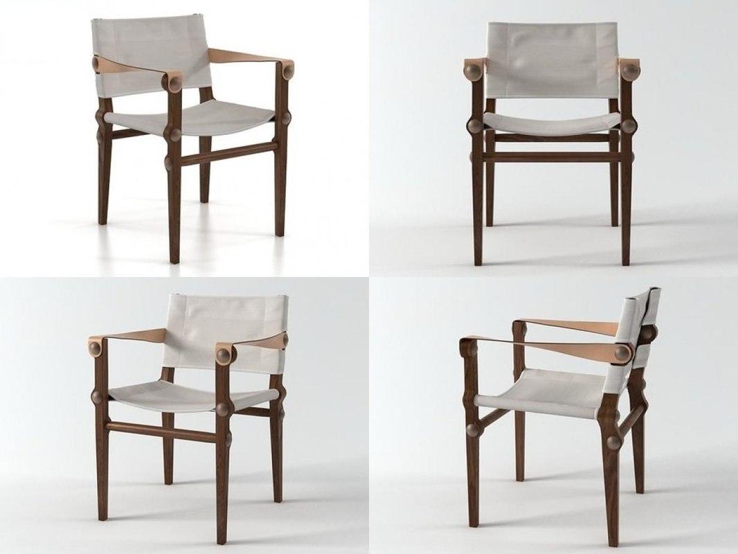 nilo chair 3D
