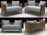 rosetta sofa 3D model