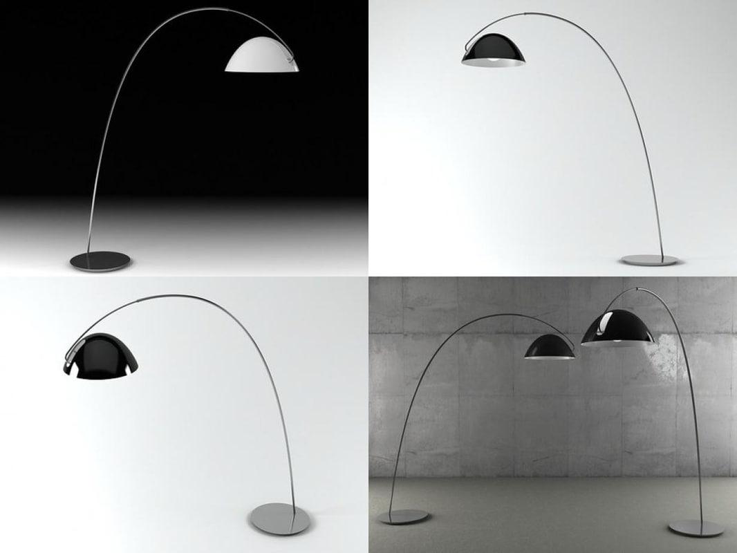 3D pluma floor lamp