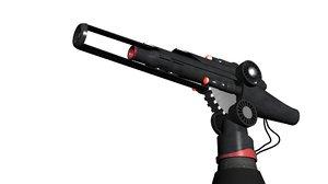 3D model nod laser canon c