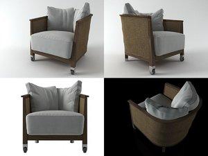 mozart armchair model