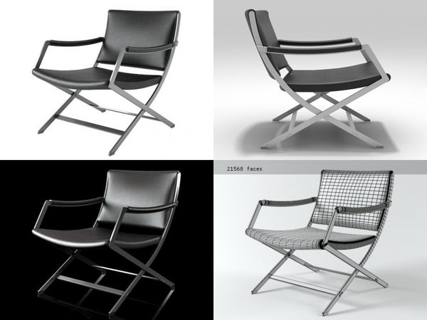 paul armchair 3D model