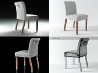 linda chair 3D model