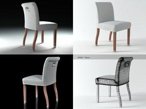 linda chair 3D model