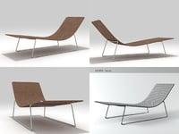 trenza sun lounger 3D
