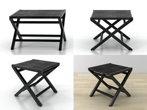 3D emily occasional tables model