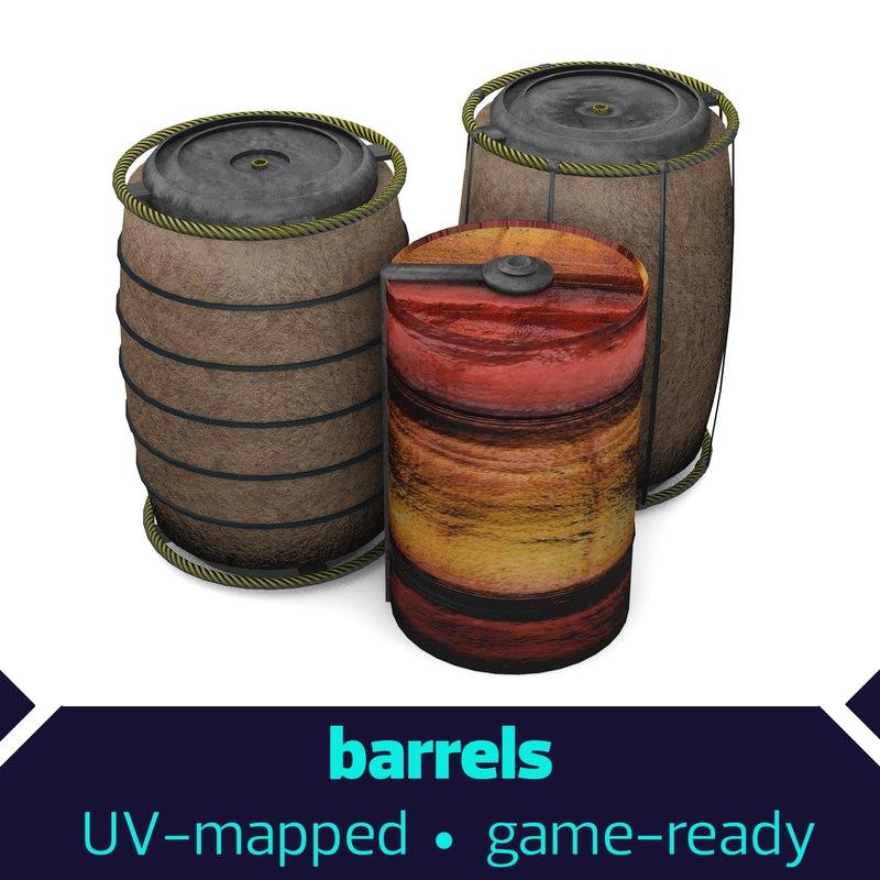 barrels 3D