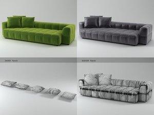 strips sofa 125 310 model