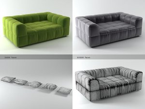 3D strips sofa 125 190