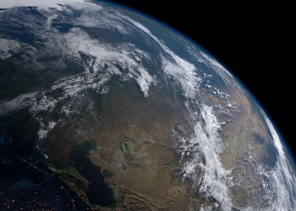 photorealistic earth - 21k 3D model
