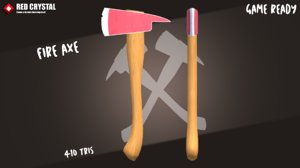 3D ax axe model