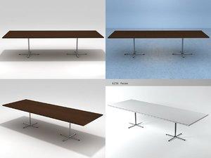 ej 205 flamingo table 3D model