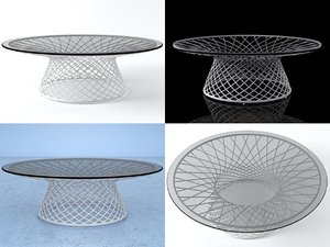 heaven occasional table 496 3D
