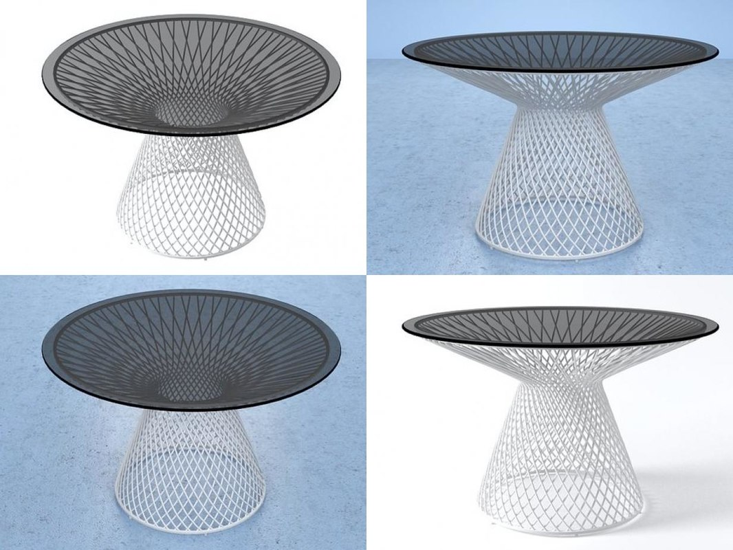 3D heaven dining table 494 model