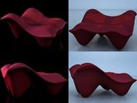 ravioli ottoman 3D