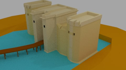 castle model