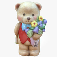 bear ornament 3D model