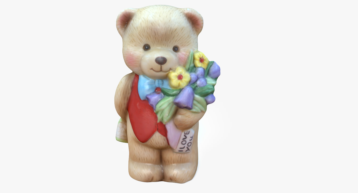 bear ornament 3D model