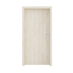wooden interior door 3D