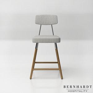 3D bernhardt hospitality ps26 upholstered model