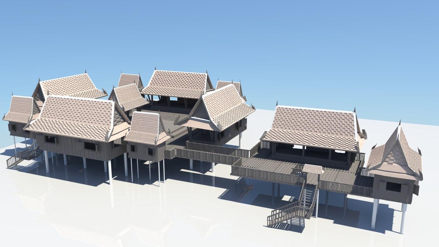 thai house 3D