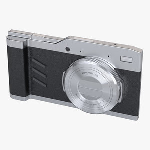3D model smart camera concept