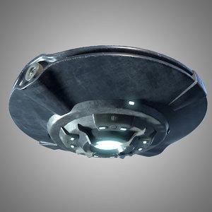 ufo mothership ship 3D model