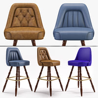 3D model richardon seating s bar stool