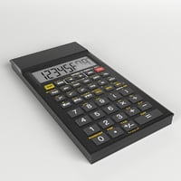 3D electronic calculator 3