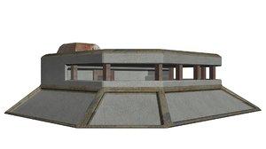 infantry bunker model