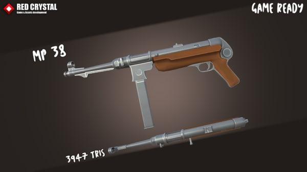 mp38 mp40 3D model
