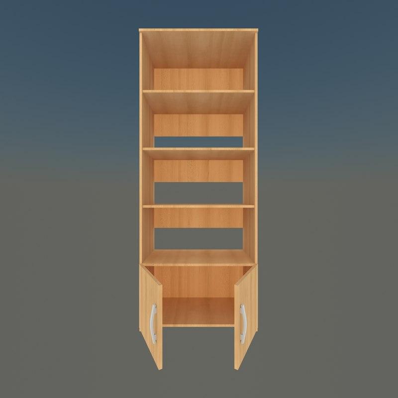 rack materials 3D model