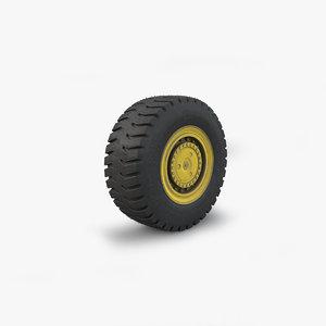 3D schopf wheel