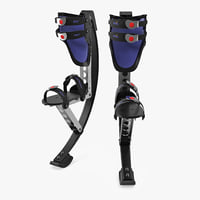 jumping stilts 3D